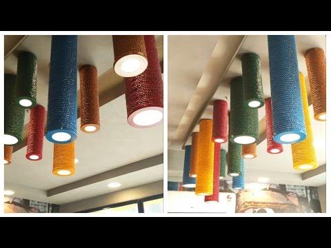 PVC Pipe Lamp - DIY  |  Enjoy Crafting