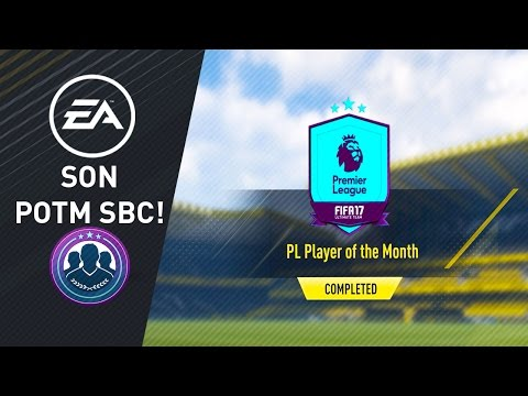 Player of the Month - April -  Heung-min Son Squad Building Challenge