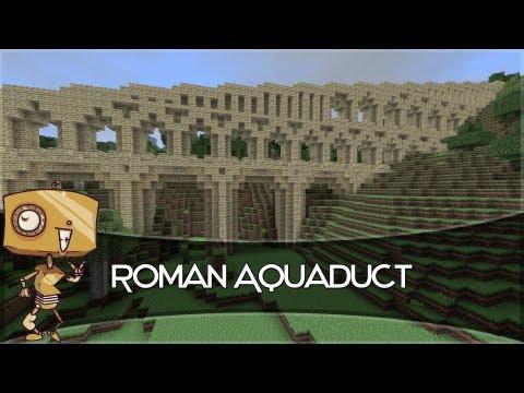 Minecraft Let's Build - a Roman Aqueduct!