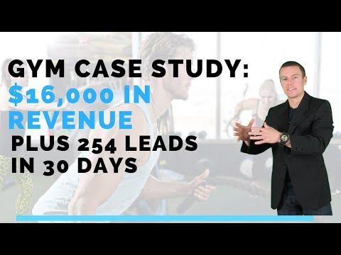 Gym Marketing: $16,000 in Revenue & 254 Leads in 30 days!