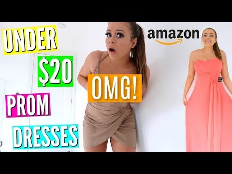 Trying On $20 Prom Dresses from Amazon!