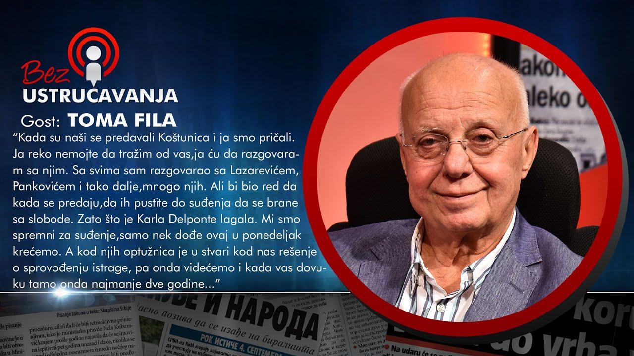 BEZ USTRUČAVANJA - Toma Fila: UDBA je pokušala da me okrene protiv oca!