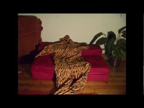 Stop Motion Tiger Onesies (Packing For Skiing)