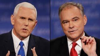 2016 Vice Presidential Debate: Pence vs. Kaine