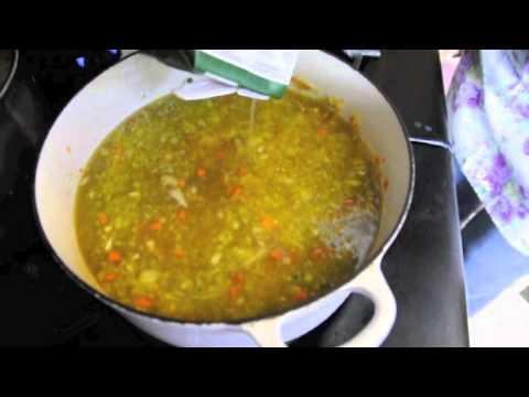 101 Split pea soup
