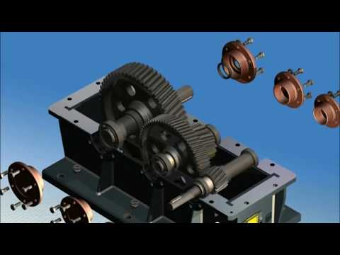 Two Step Gearbox Animation