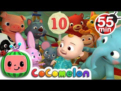 Ten in the Bed | + More Nursery Rhymes & Kids Songs - ABCkidTV