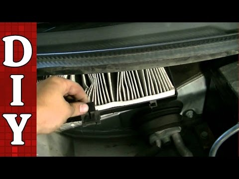 How to Remove and Replace a Cabin Air Filter   Audi VW A6 A4 Passat