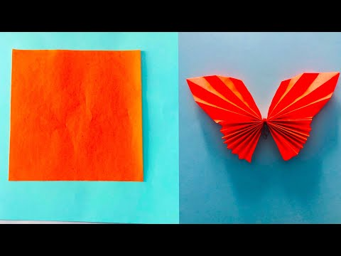 DIY Paper butterfly !! How to make butterfly using paper |cool and creative #3