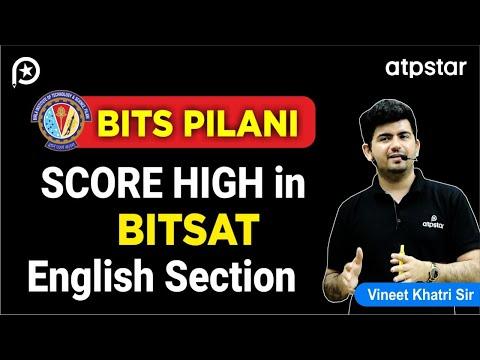 Score High in BITSAT English Section - By Vineet Khatri