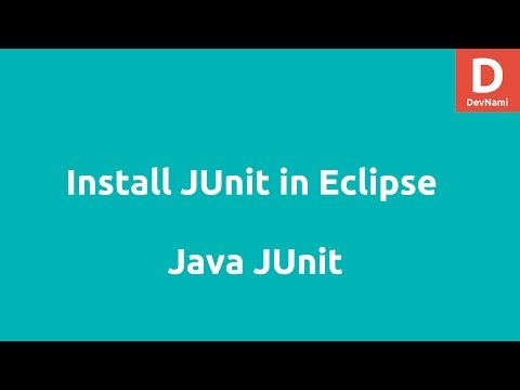 JUnit Installation and Eclipse Environment Setup
