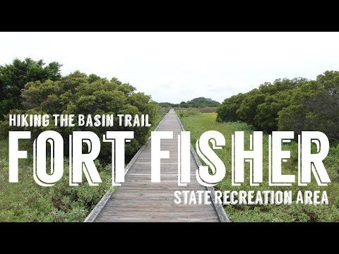 Fort Fisher State Recreation Area | Hiking The Basin Trail | Wandering Around In Wonder