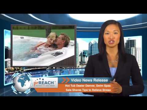Hot Tub Dealer Denver, Tips to Relieve Stress
