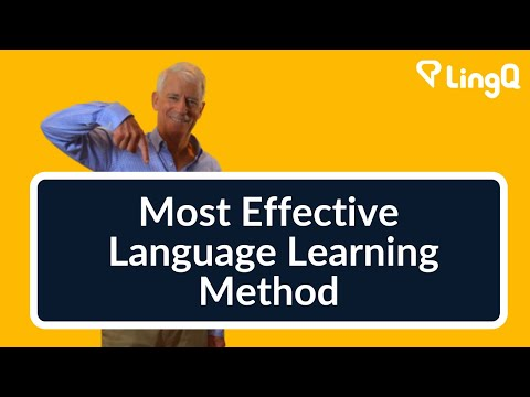 Language learning - The Most Effective Method Of All