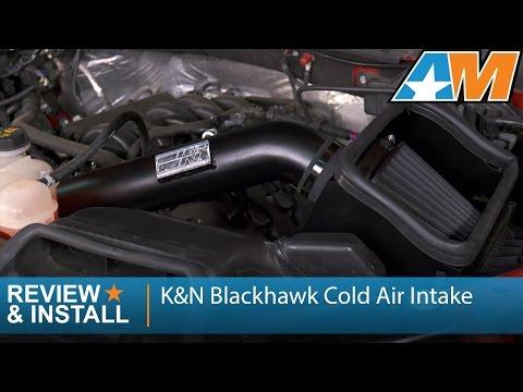 2015-2017 Ford F-150 (5.0L) K&N Blackhawk Cold Air Intake Review & Install