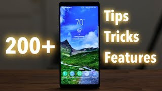 200+ Samsung Galaxy Note 9 Tips, Tricks and Hidden Features
