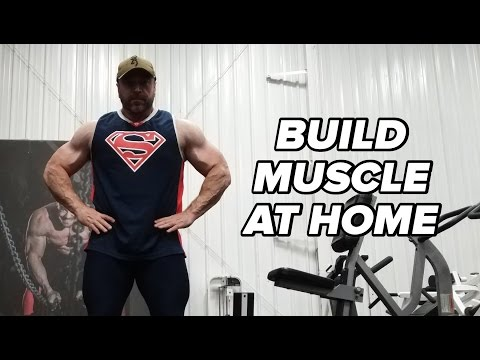 Building Muscle at Home With No Squat Rack or Bench
