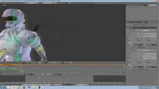 Tutorial : BVH Motion capture files, how I used it. (Blender 2.64)