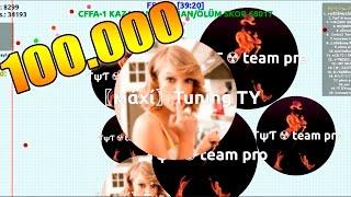 AGARZ.COM - Taylor Swift - INCREIBLE TOP 1 - 100.000 Puntos - Magia Team + TRUCO VIRUS