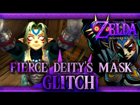 The Legend of Zelda: Majora's Mask 3D - Fierce Deity Glitch