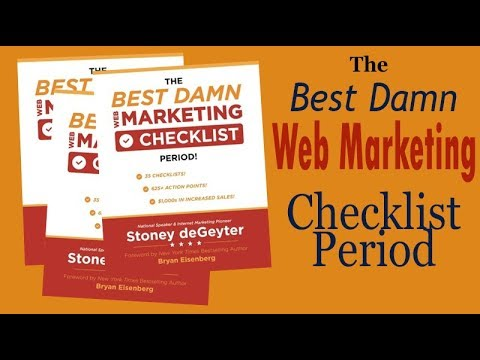 The Best Damn Web Marketing Checklist Period
