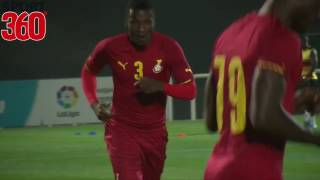 Asamoah Gyan's goal and interview with Avram Grant after Ghana AFCON friendly win