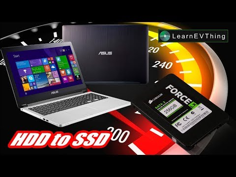 HDD to SSD Laptop Asus - Boost Laptop Speed Replace SSD - Asus TP500 Serie