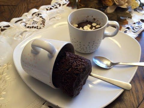1 Minute Chocolate Mug cake-1 நிமிடத்தில் கேக்-Tea cake in tamil