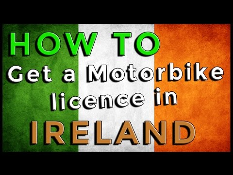 How To Get Your Motorbike Licence In Ireland