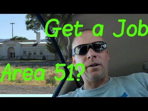 Inquiring for Employment @ Area51 Annex in Alamo
