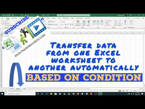 Transfer Specific Worksheet Range Data from one worksheet to another based on condition