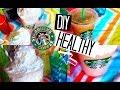 DIY Healthy Starbucks Summer Drinks!