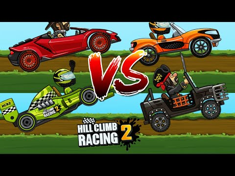 Hill Climb Racing 2 | The Track Day Event | Gameplay
