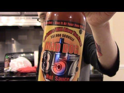 Leninhawk's Trying: Mad Dog 357 Hot Sauce