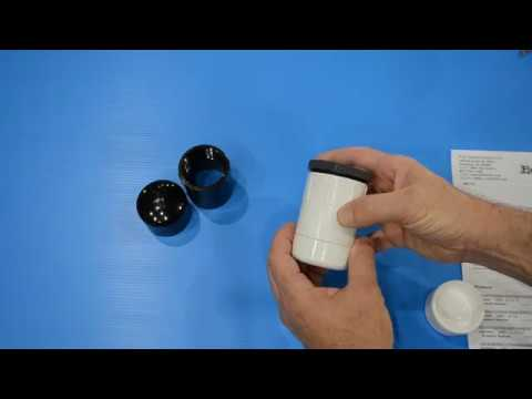 FlexPVC How to make a waterproof battery container from pvc fittings.