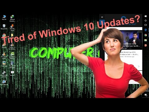 Turn off Windows 10 Update | Stop Automatic Updates | Windows 10 ✓