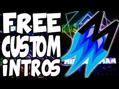 How To Create FREE Custom Intros (NO SOFTWARE)