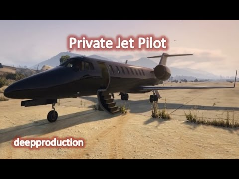 Become a Private Jet Pilot in GTA V | FIRST EXP!!!