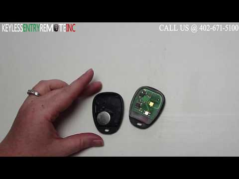 How To Replace Cadillac CTS Key Fob Battery 2003 2004 2005 2006 2007 2008