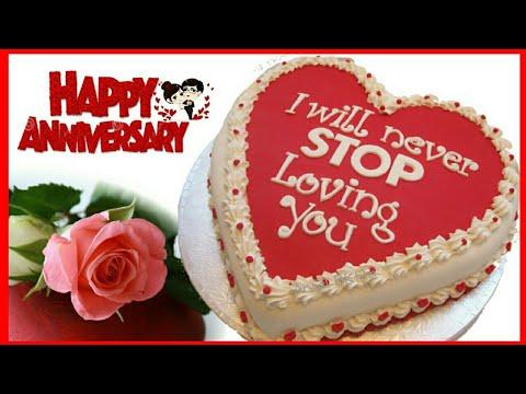 Happy Anniversary Cake Images/WhatsApp Status