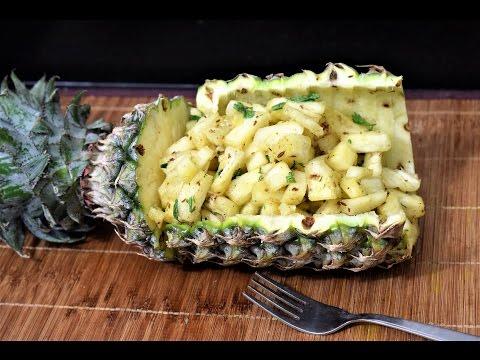 Pineapple Chaat Recipe | How to make Pineapple chaat | Healty Chaat Recipe | Fruit Chaat Recipe