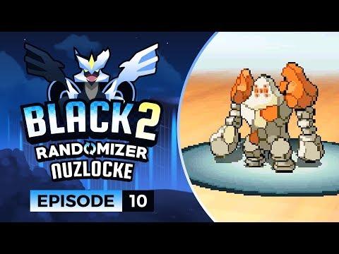 Pokemon Black 2 Randomizer Nuzlocke - EP10 | The Regirock of DOOM
