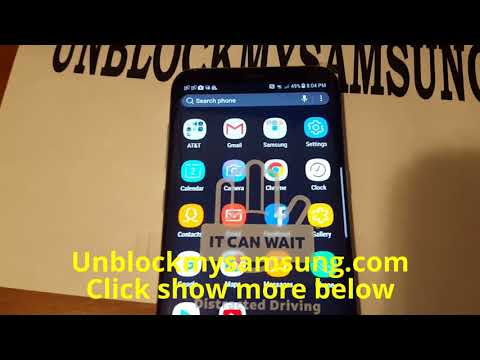 How to fix blacklisted IMEI Galaxy S8 ATT-T-Mobile-Sprint... ETC
