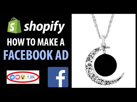 How To Make A Facebook Ad For Shopify (Live Example - Dropshipping)