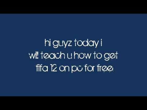 how to download fifa 12 for free