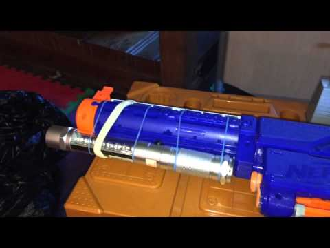 How to make a Nerf gun laser pointer