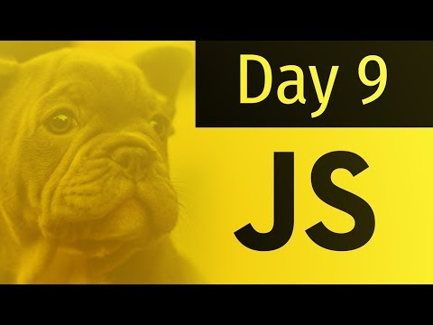 The 10 Days of JavaScript: Day 9 (Misc Must Know Info)