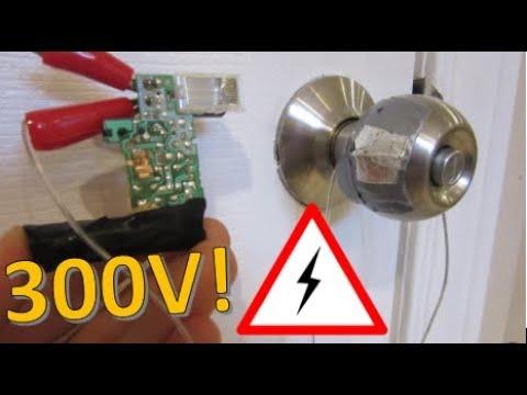 How to Make a 300v Door Alarm - $2