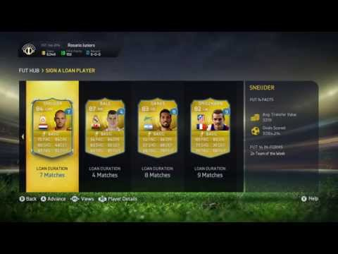 Fifa 15 - Loan a player (Ultimate Team)