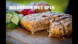 Visburger met spek   Fire&Food TV